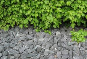 Blå granitskærver