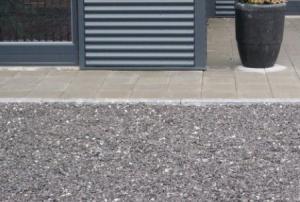 granitskærver indkørsel